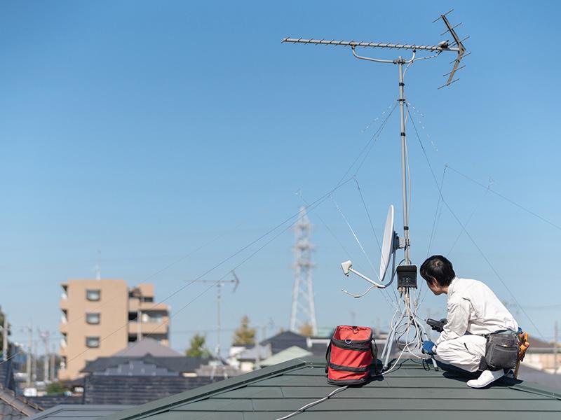 アローテック株式会社は群馬県高崎市のテレビ電波障害対策工事業者です